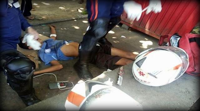Menor é baleado no terminal de integração da Atalaia