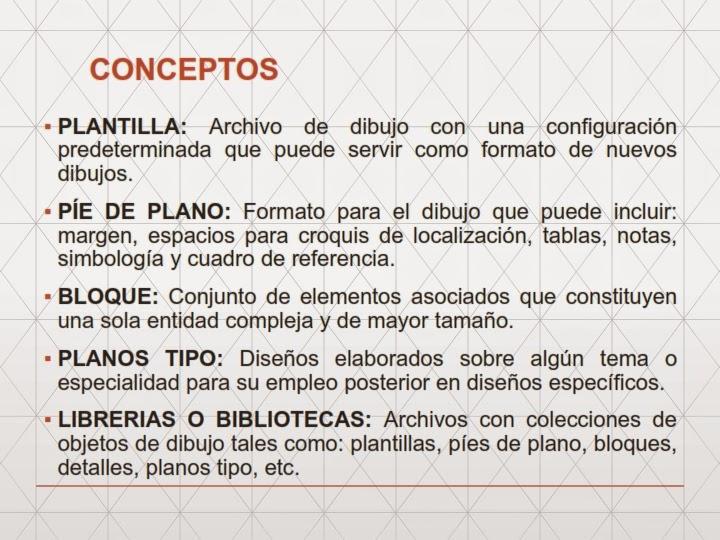 Dibujo t cnico de ingenier a civil for Pie de plano arquitectonico pdf