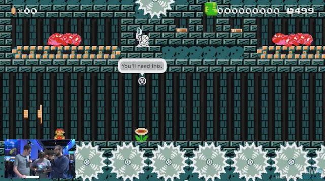 Saiba mais detalhes (com imagens) sobre o compartilhamento online de estágios em Super Mario Maker 7