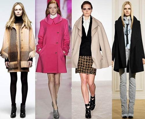 Модне пальто на весну 2013 року