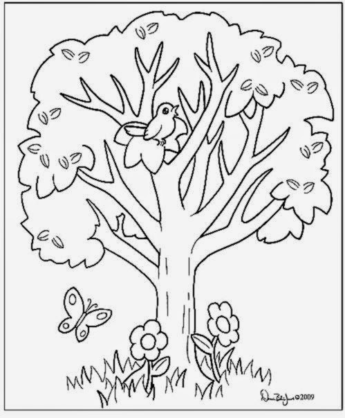Coloring Book Tree