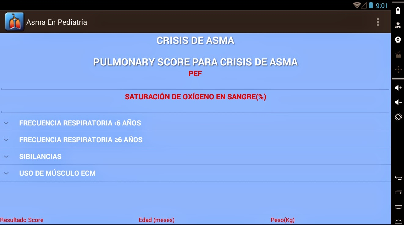 ASMA EN PEDIATRÍA en tablets