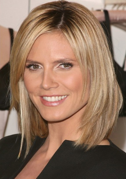 The Cool Medium Short Straight Hairstyles Pics