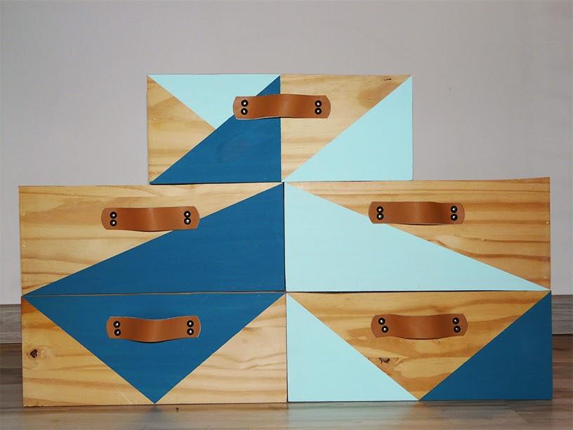 Caisses en bois customisées