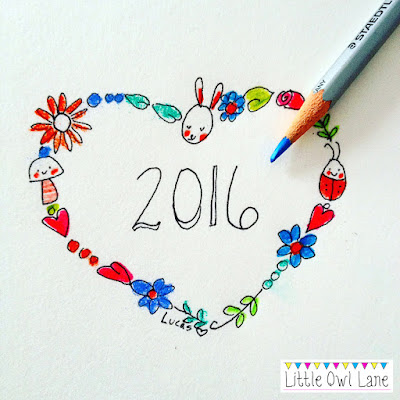 Happy 2016 from the Little Owl Lane Blog!