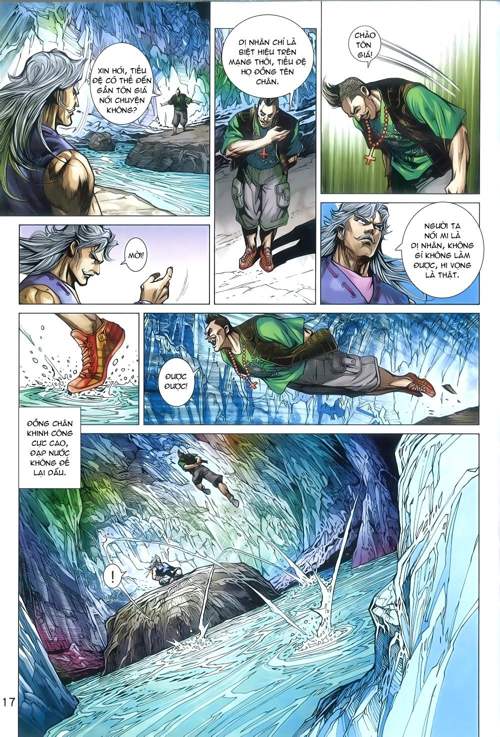 Tân Tác Long Hổ Môn chap 805 Trang 17 - Mangak.info