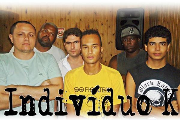 Banda Indivíduo K grava videoclipe da música