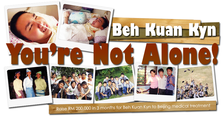 Beh Kuan Kyn-- You are not alone