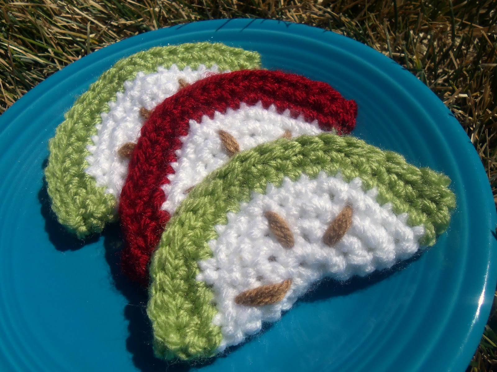 Once Upon a Baby: Crochet Apple Slices