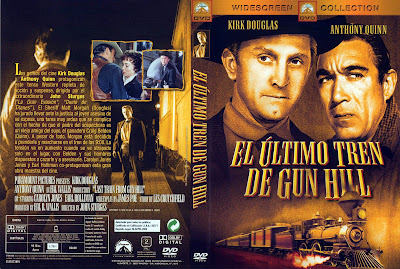 Cover, dvd, caratula: El último tren de Gun Hill | 1959 | Last Train from Gun Hill