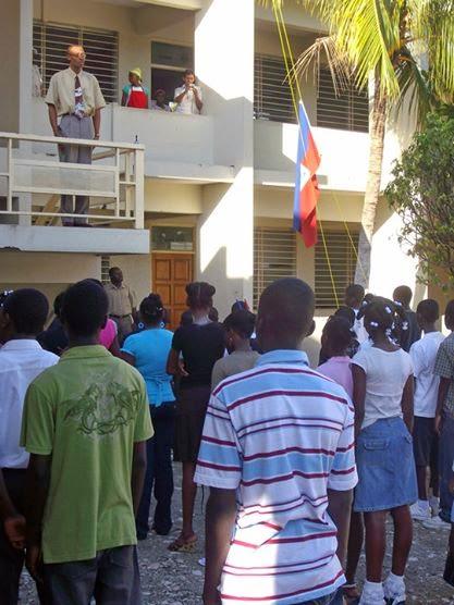 Reapertura de la escuela de Aldeas en Puerto Príncipe.