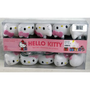 Hello Kitty Christmas lights for Christmas tree decoration