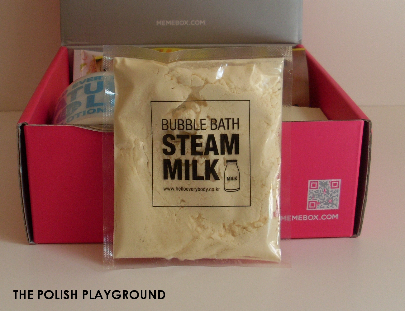 Memebox Special #7 Milk Unboxing - Hello Everybody Bubble Bath Steam Milk