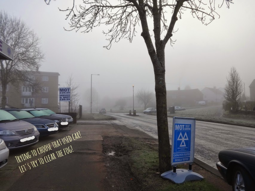 clear the fog of choosing a new used car