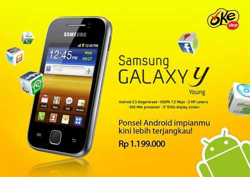 Samsung S5360 Galaxy Y Specification:
