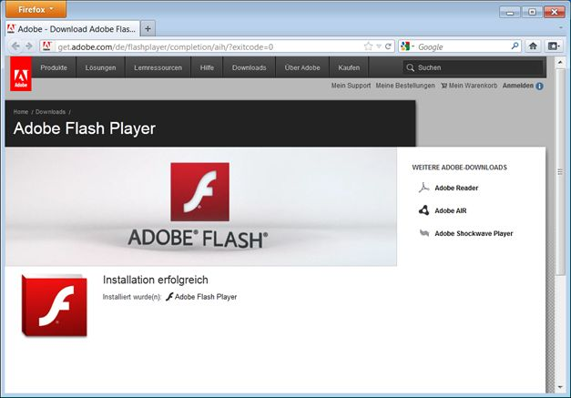 flash player kostenlos firefox