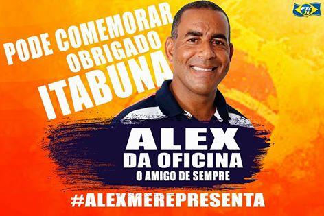 MENSAGEM DO VEREADOR ALEX DA OFICINA