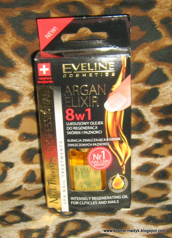 8w1 Luksusowy olejek do skórek i paznokci, skuteczny?