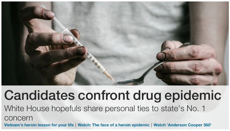 the heroin epidemic In recent years, heroin use in north america has exploded into an epidemic at the same time, policymakers and the public have clashed over how to properly treat this public health scourge.