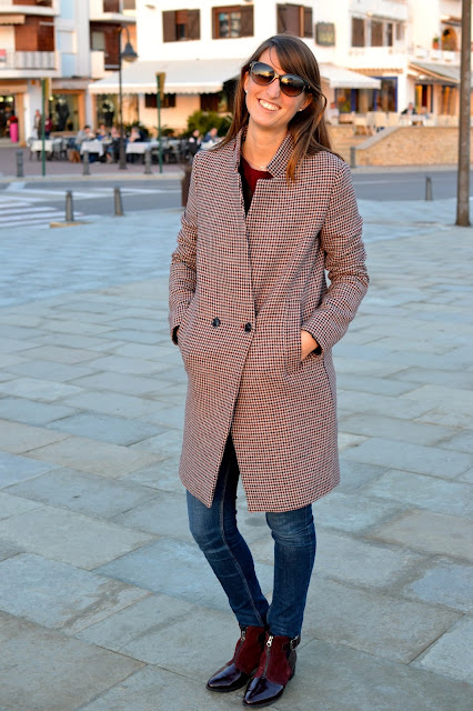 street style look abrigo british invierno