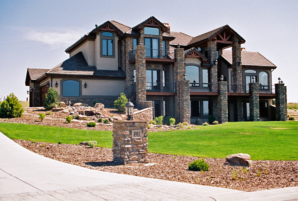 Luxury homes front elevation picture for Most expensive homes in colorado