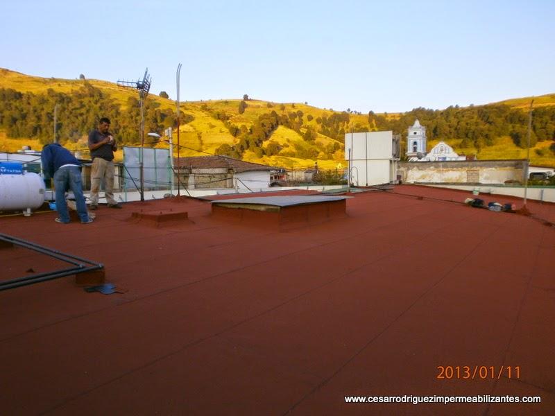 impermeabilización de techos de madera