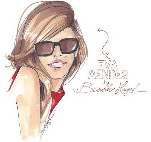 how to draw sunglasses illustration