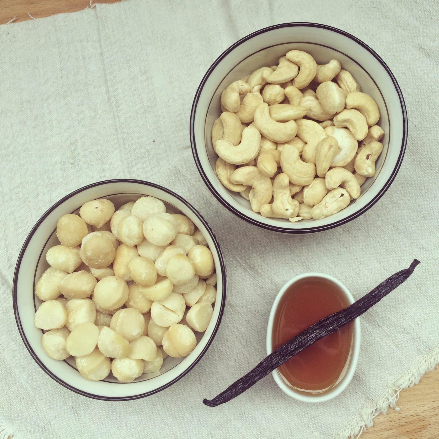 beurre macadamia cajou vanille érable