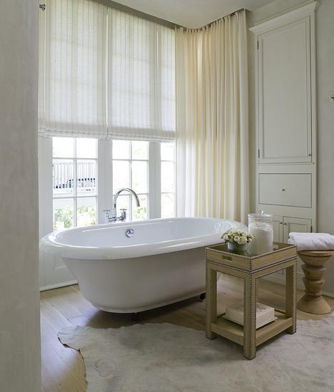 JK's Lexington Build: Curtains for the bathroom