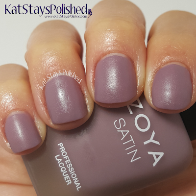 Zoya NYFW Satin Trio 2015 - Antoinette | Kat Stays Polished