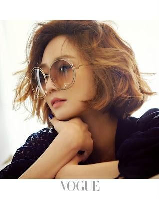 Go Joon Hee - Vogue May 2015