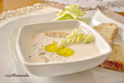 Vellutata di sedano rapa ricetta zuppe