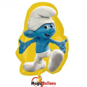 Children parties, smurfs decoration