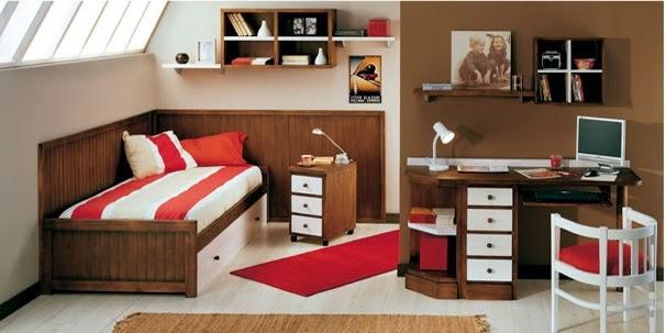 Dormitorios juveniles pino macizo|Habitaciones juveniles pino macizo