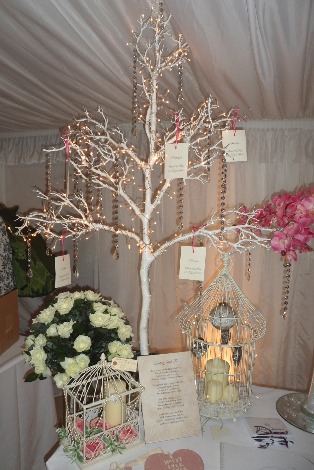 Originally A Traditional Dutch Custom The Wish Tree Stands Near Entrance To Reception As They Enter Guests Take Tag And Write Their