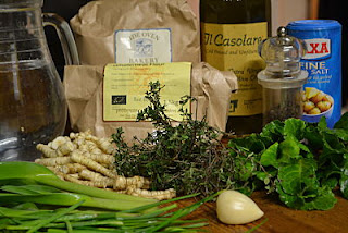 Ingredients for skirret pasties
