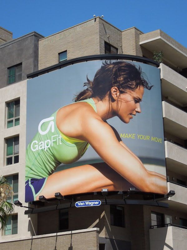 Gap Fit billboard