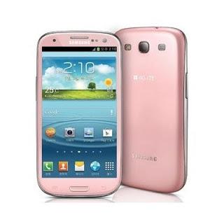 Samsung Galaxy S III Warna Pink