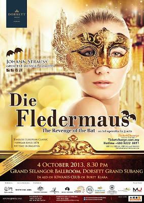 Die Fledermaus, Revenge of the Bat, Operetta, opera, Johann Strauss, Dorsett Grand Subang