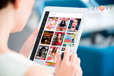 Disfruta de las revistas con Ztory