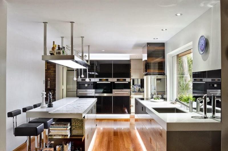Hogares Frescos: Una Cocina de Diseño Contemporáneo, Eficiente y de ...