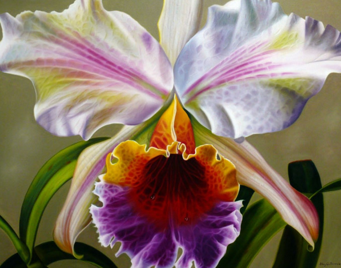 En Oleo De Flores Flores Pintadas Al Oleo Sobre Lienzo Pintura Flores