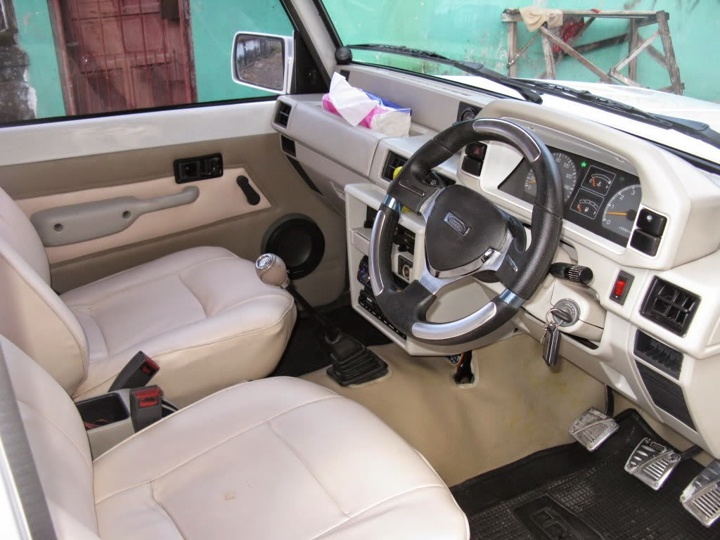 modifikasi interior mobil feroza