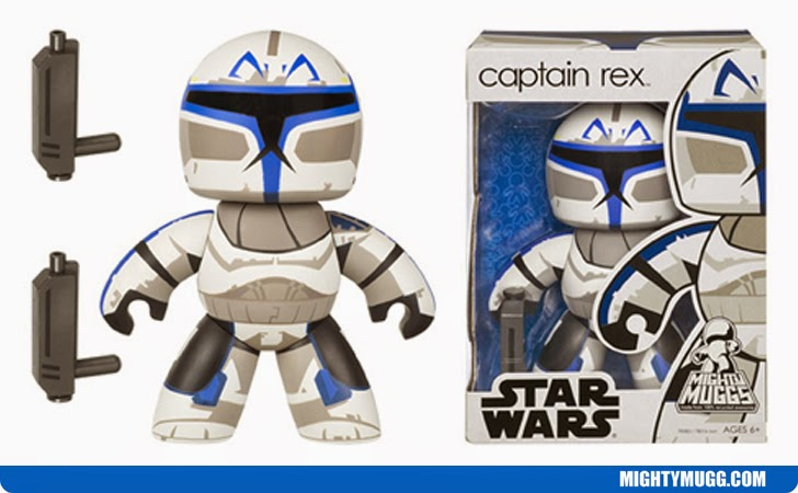 Captain Rex Star Wars Mighty Muggs Wave 5
