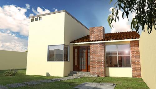 Mi casa mi hogar fachadas casas peque as for Disenos de fachadas de casas pequenas modernas