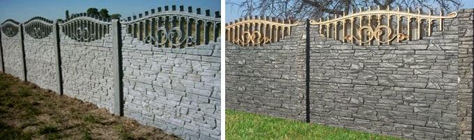 Betonske ograde - cena ograde betonske