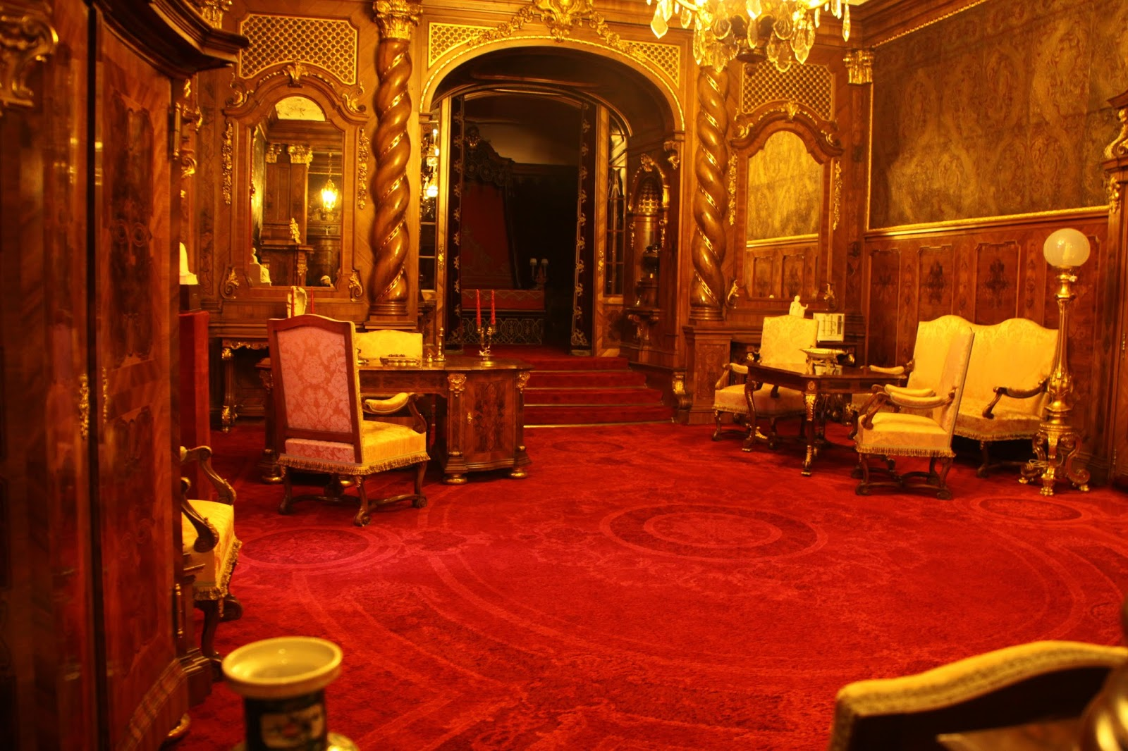 Fiorentino Sala Veneziana La Sala Da Pranzo In Stile Neorinascimentale #370C00 1600 1066 Sala Da Pranzo Stile Country