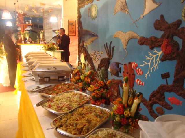 JM Buffet Eventos e Decorações Flores Tropicais