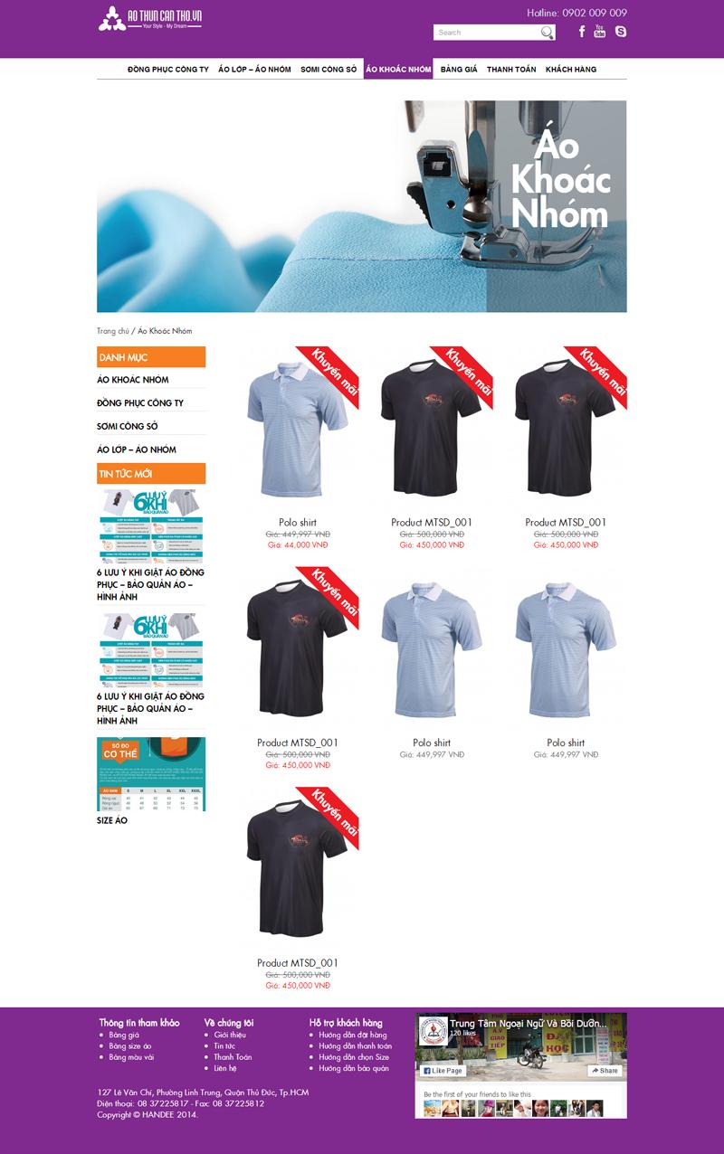 Thiết kế website bằng hàng bằng wordpress