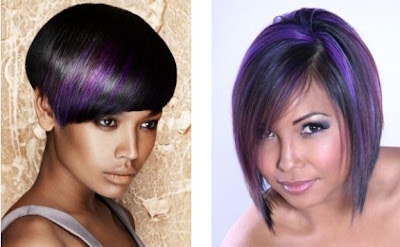 purple hair color trend ideas